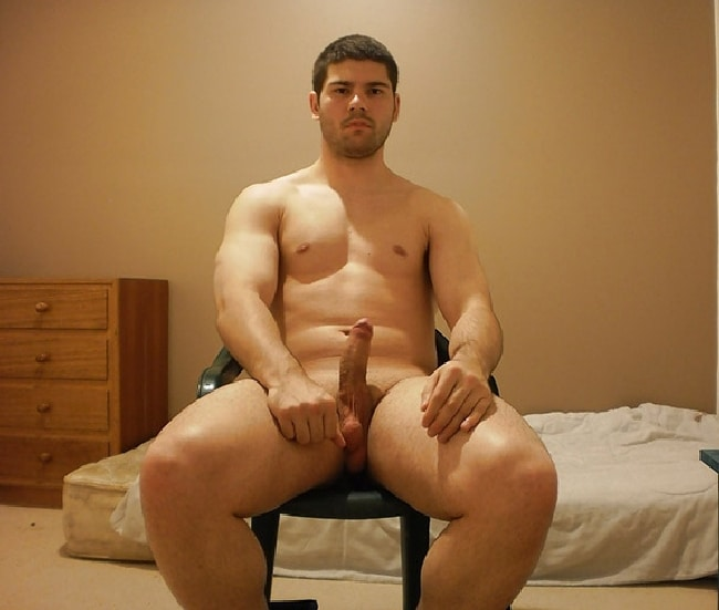 Beefy Nude Guy