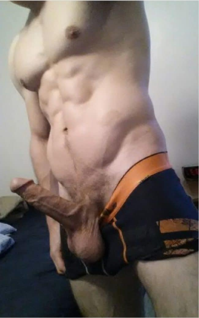 Fit Nude Man